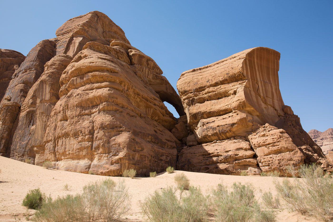 Wadi Rum Arch