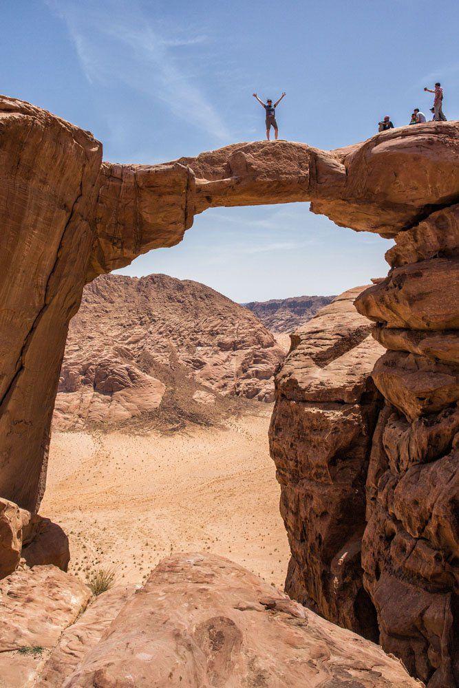Wadi Rum Rock Arch