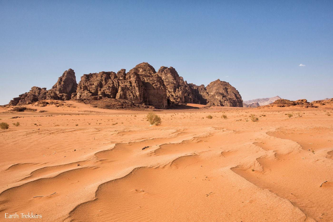 Wadi Rum Sand