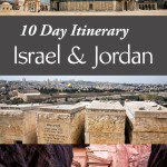 10 Day Itinerary Israel and Jordan