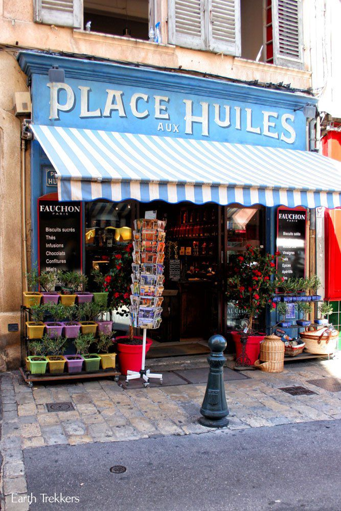 Aix French Riviera Itinerary