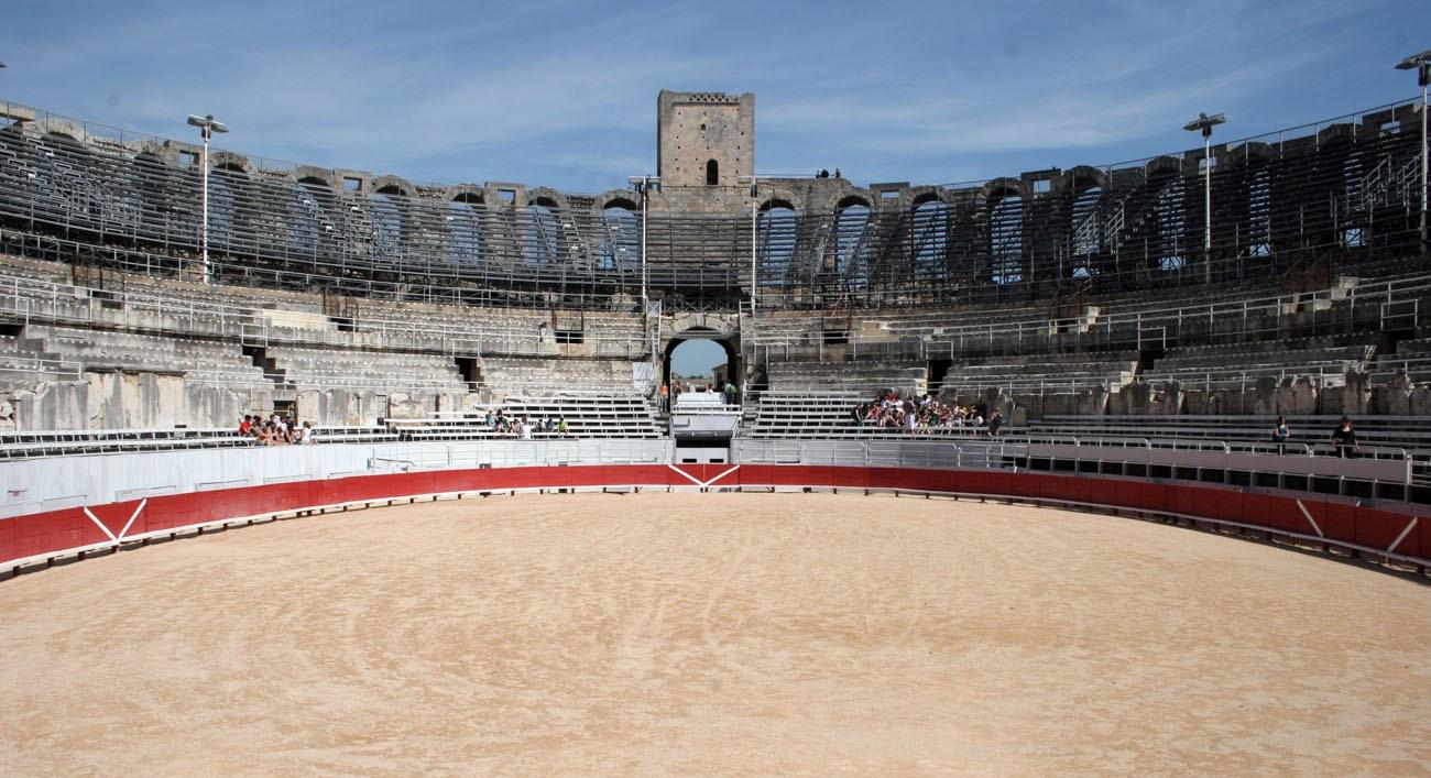 Arles Bull Fighting Arena