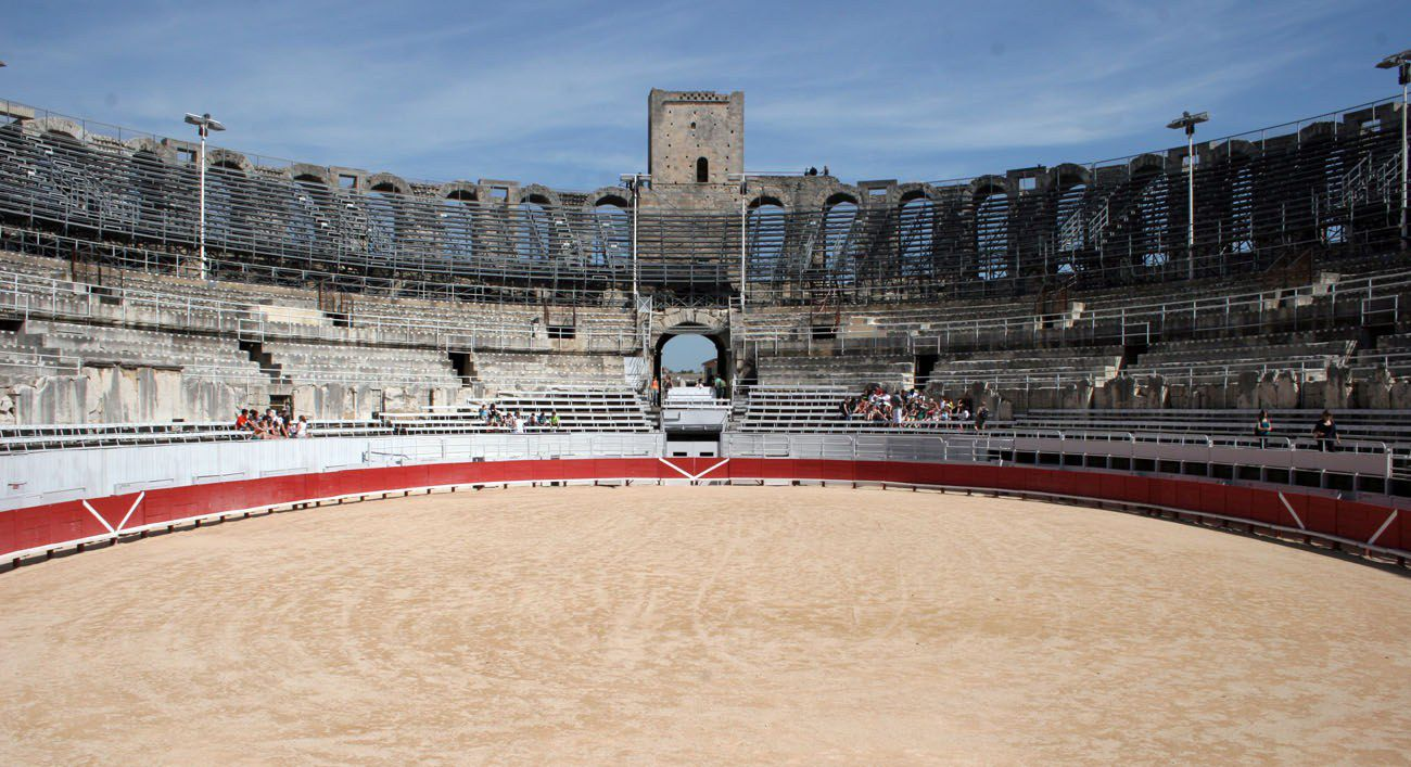 Arles Bull Fighting Arena