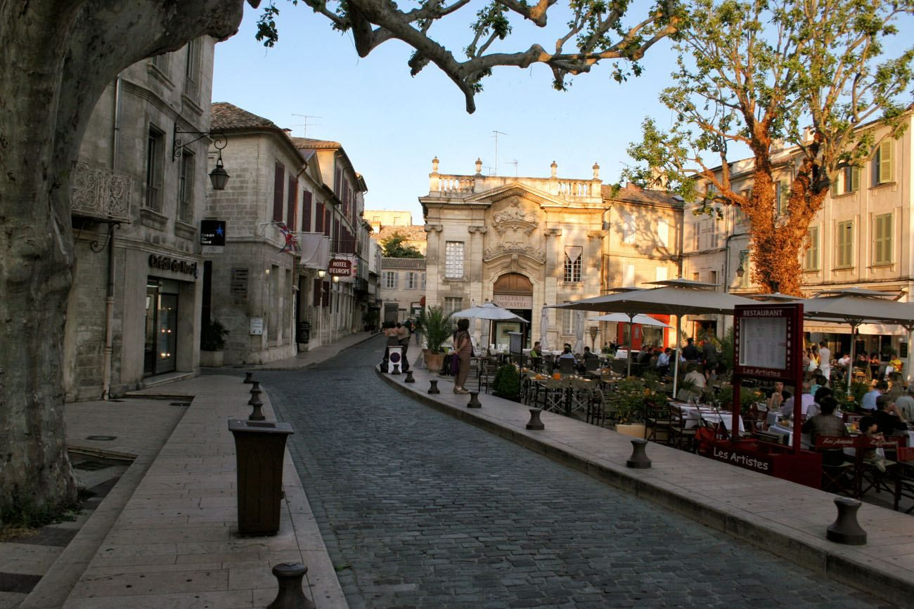 Avignon France French Riviera Itinerary