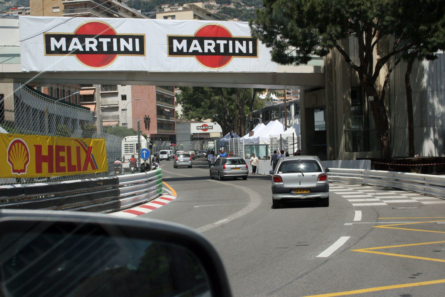 Driving Monaco Grand Prix Course
