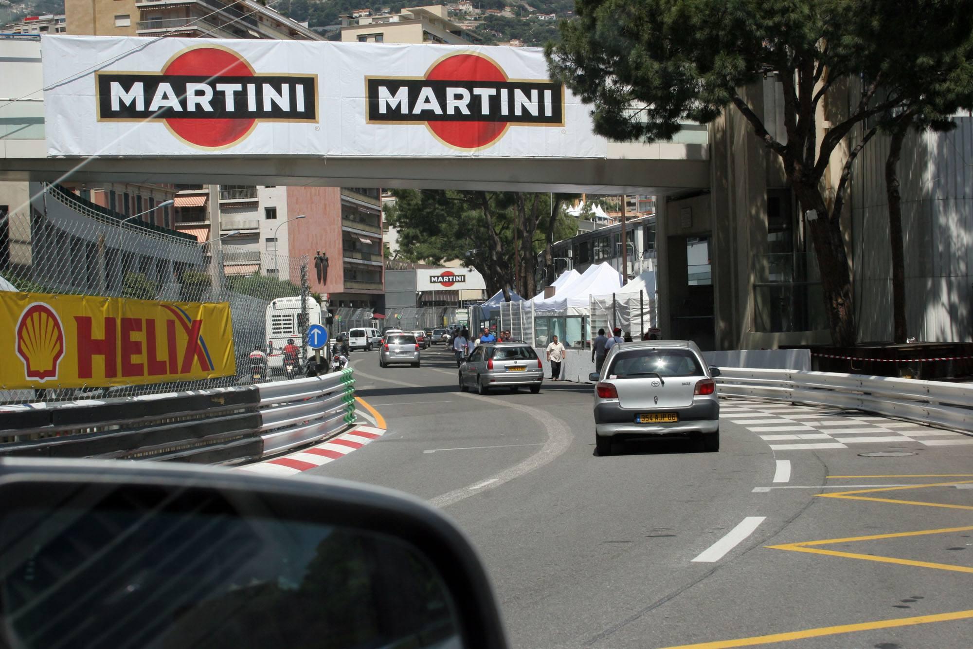 Driving Monaco Grand Prix Course