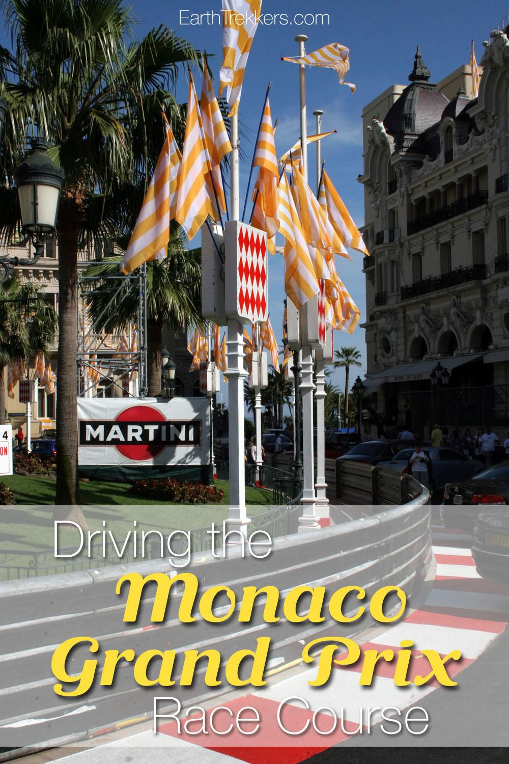 Driving Monaco Grand Prix Race Course