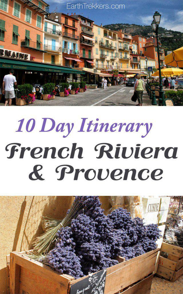 French Riviera Provence 10 Day Itinerary