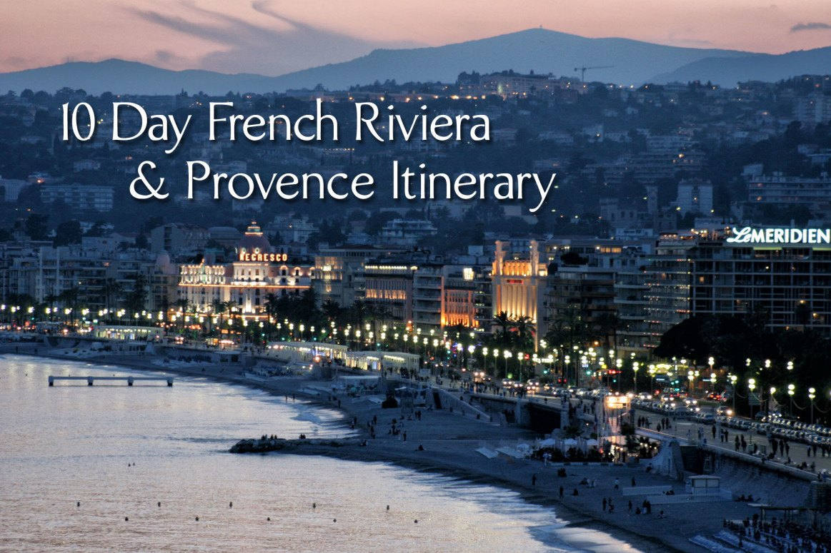 French Riviera and Provence Itinerary