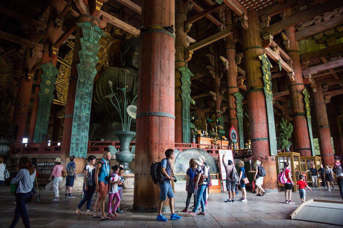 Inside Great Buddha Hall