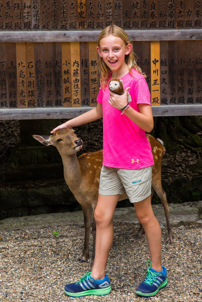 Kara Rivenbark in Japan