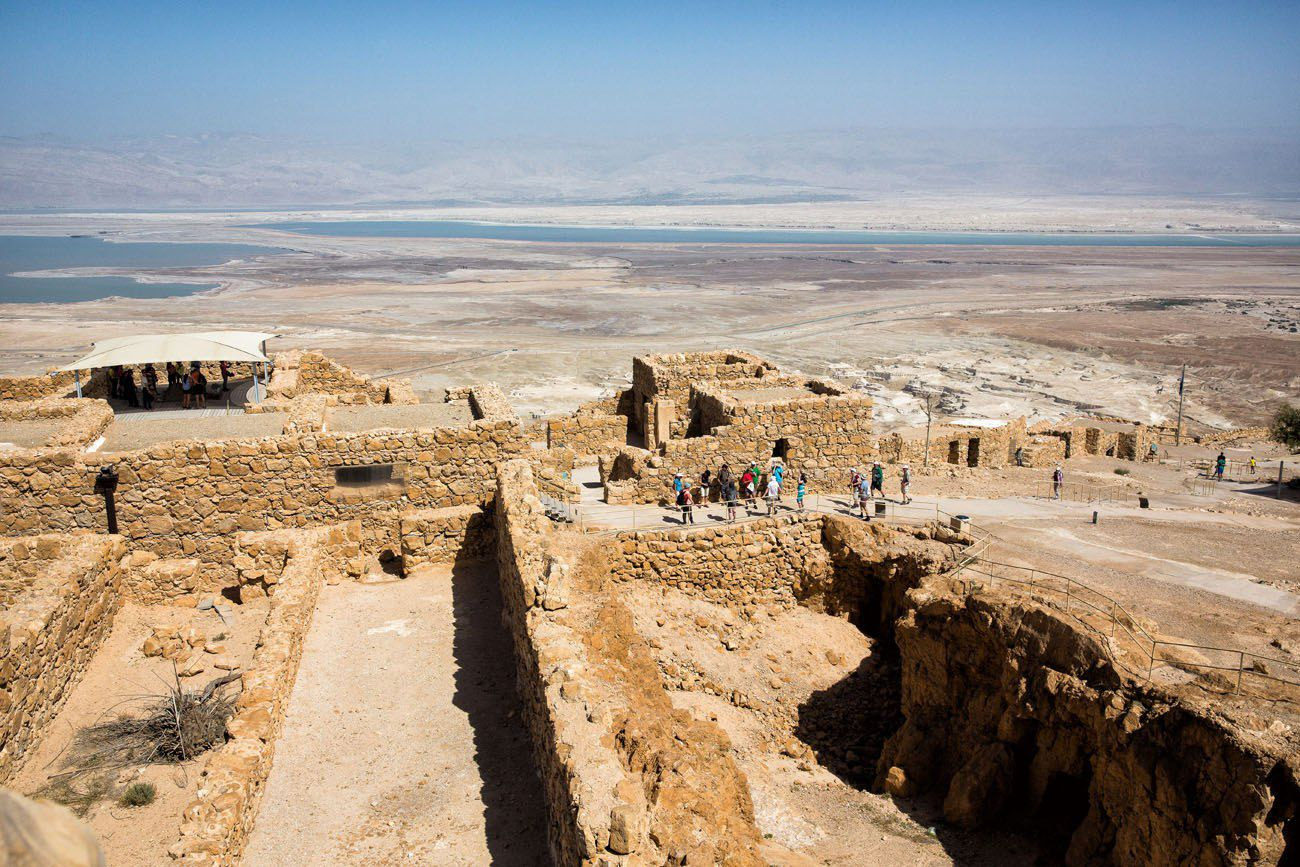Masada Israel and Jordan itinerary