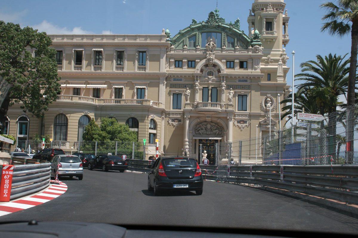 Monaco Grand Prix Course