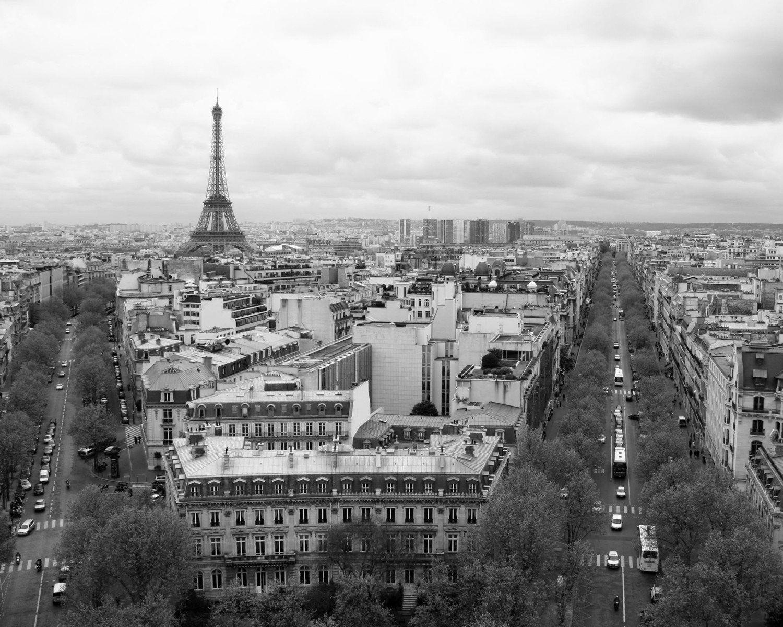 Paris Black and White