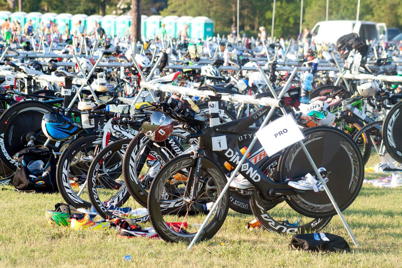Pro Bikes in Transition