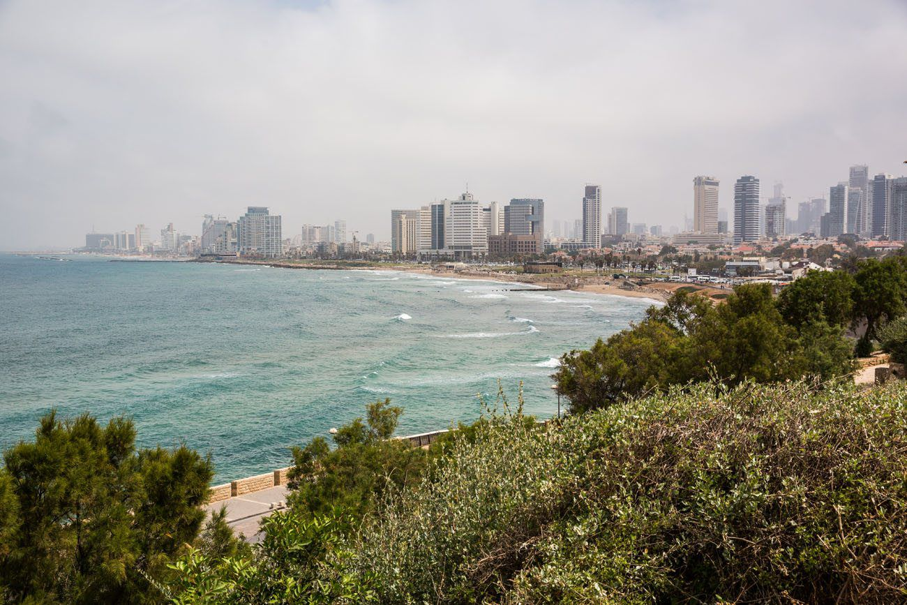 Tel Aviv Israel and Jordan itinerary