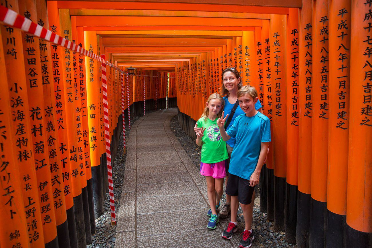 Travel with Kids Japan