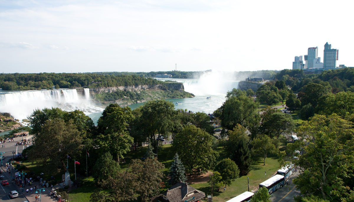 View from Sheraton Niagara Falls