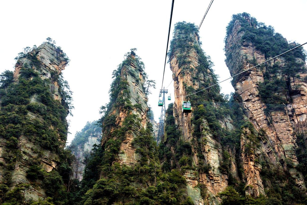 Cable Car Zhangjiajie
