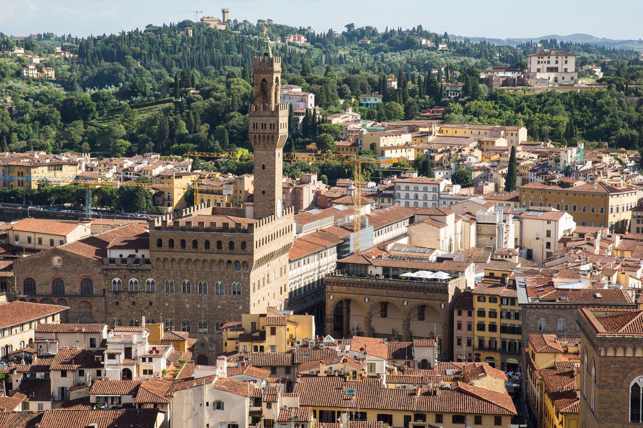 Campanile Florence View