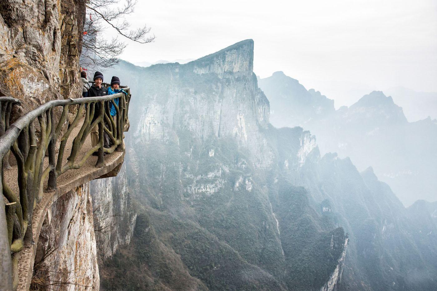 China Dangerous Walks