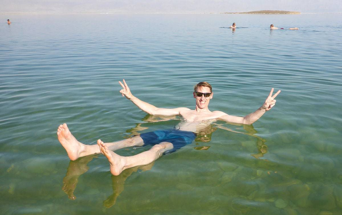 Dead Sea Israel and Jordan itinerary