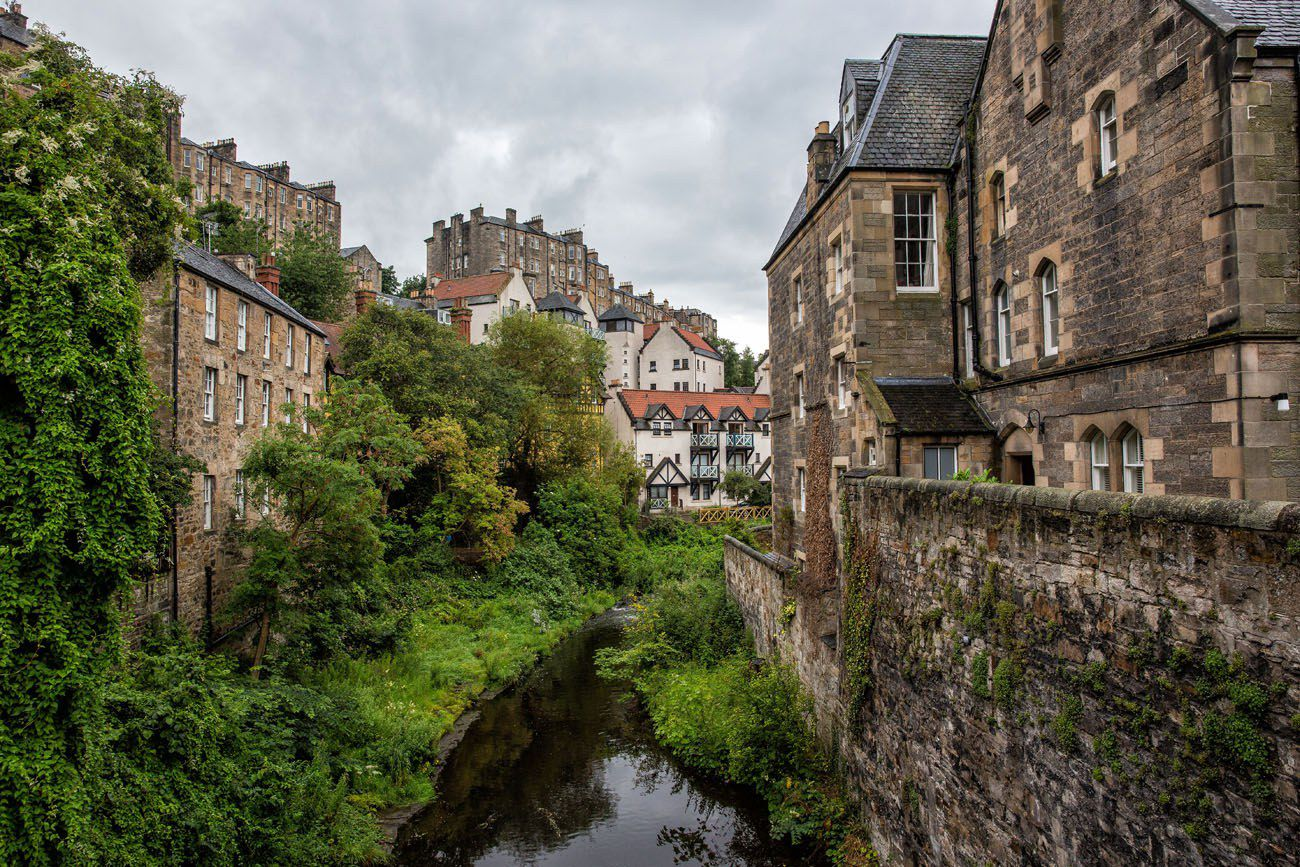Dean Village Edinburgh Walk