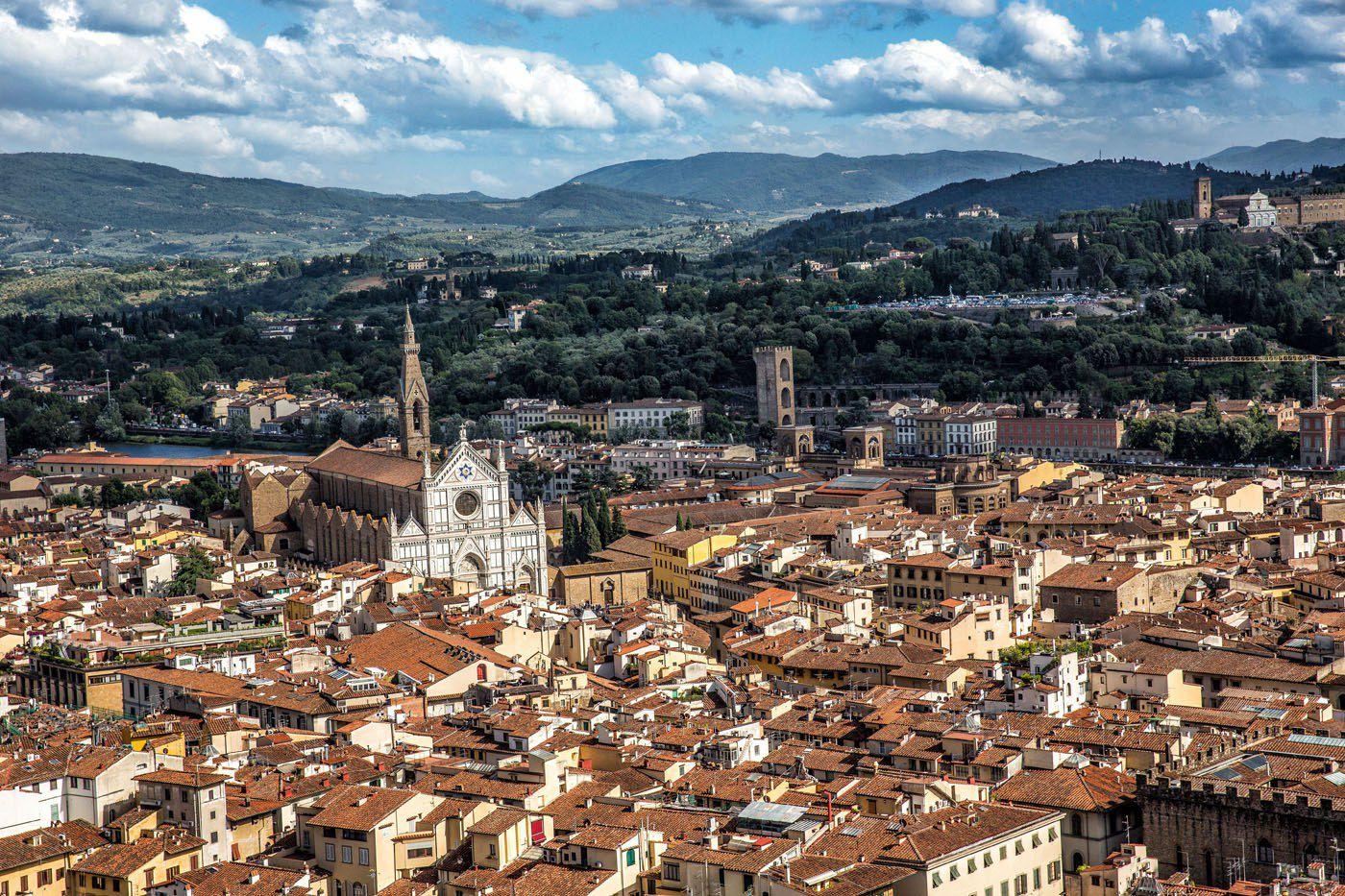 Duomo Florence View
