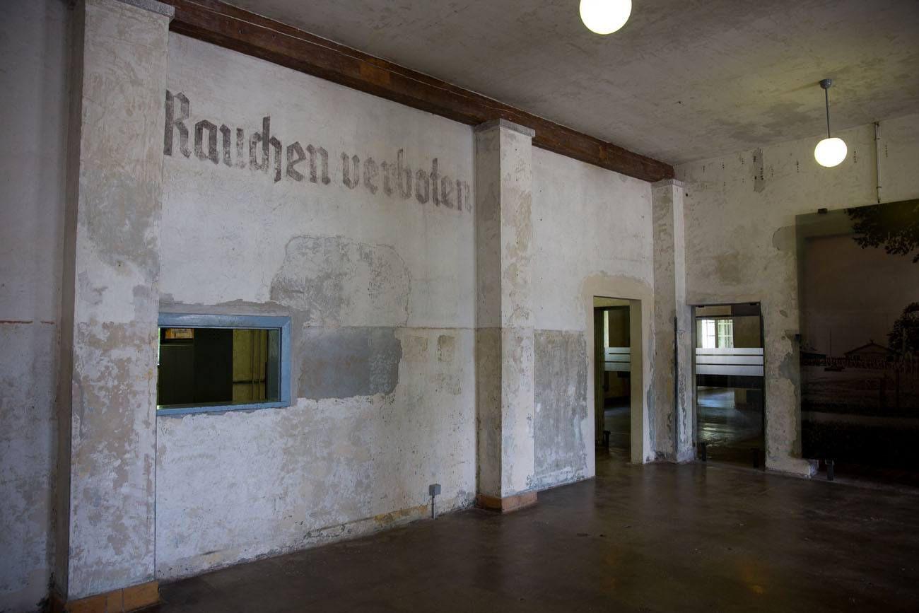 Inside Dachau