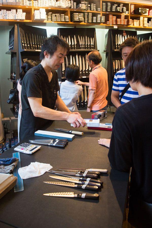 Knife Shopping Tokyo