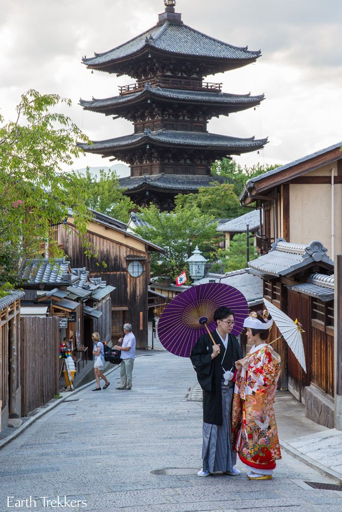 Kyoto Japan in July