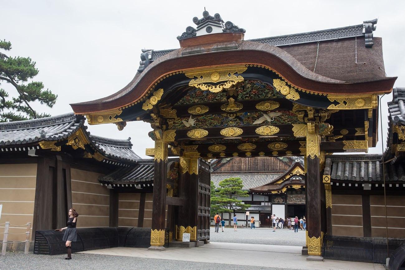 Nijo Castle Entrance