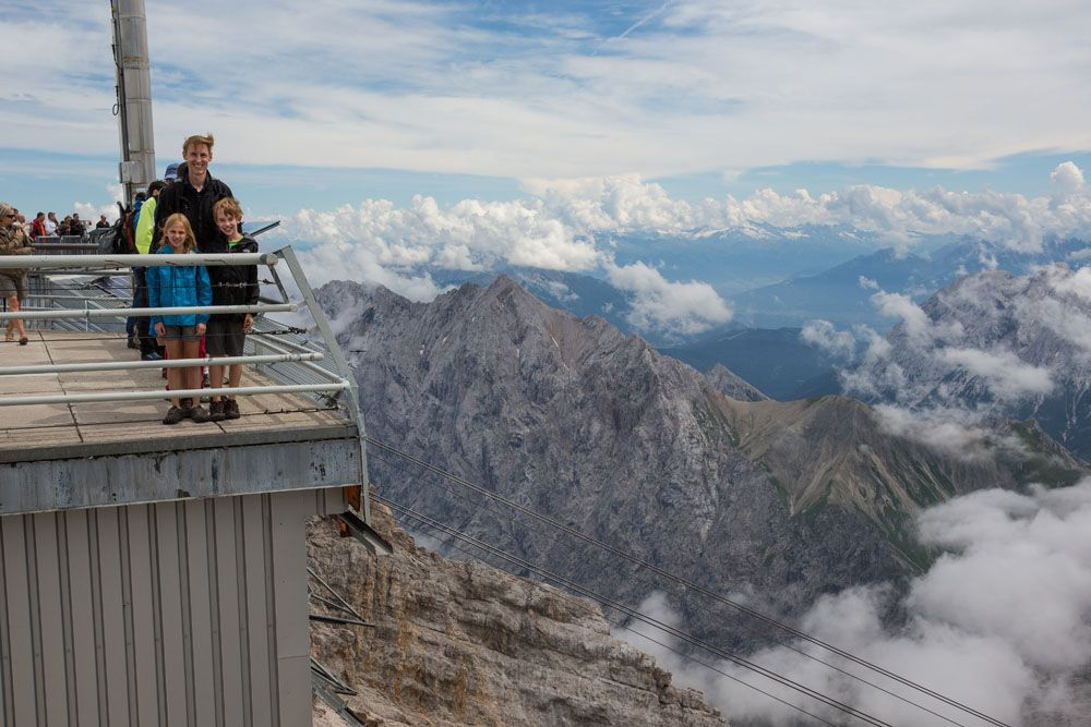 On Zugspitze