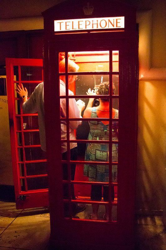 Prohibition Phone Booth