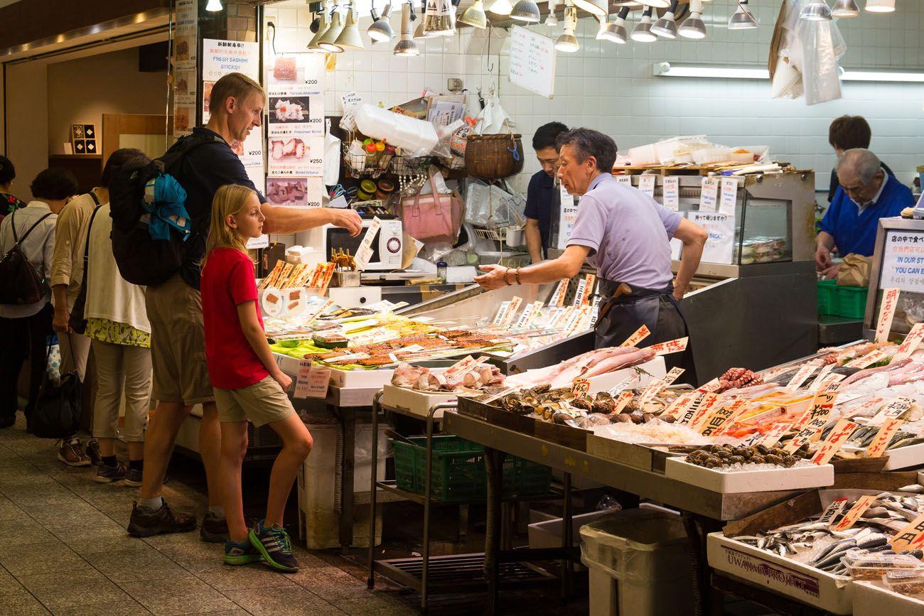 Shopping Nishiki Market