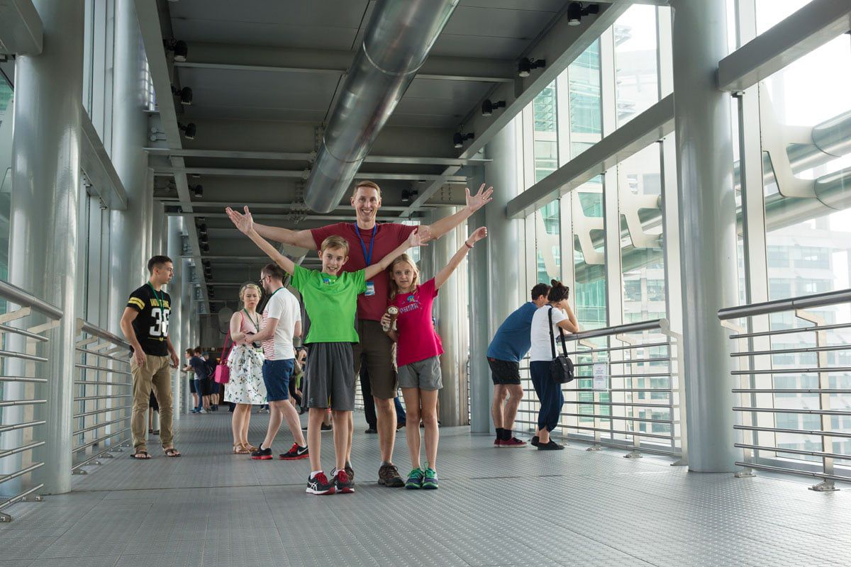 Skybridge Petronas Towers