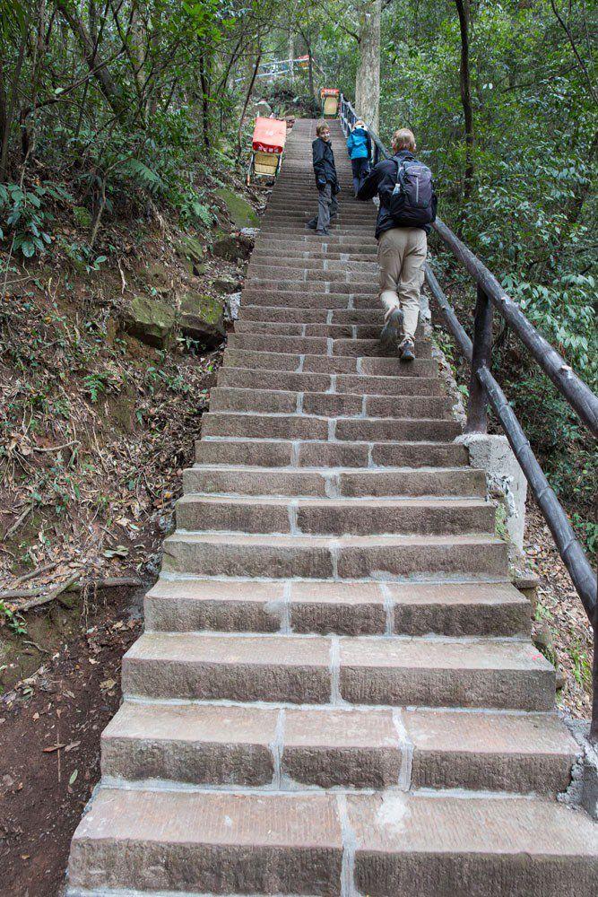 Stair Climbing Zhangjiajie