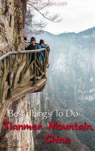 Tianmen Mountain best things to do