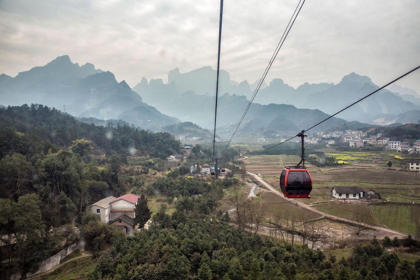 Tianmen Shan Cable Car