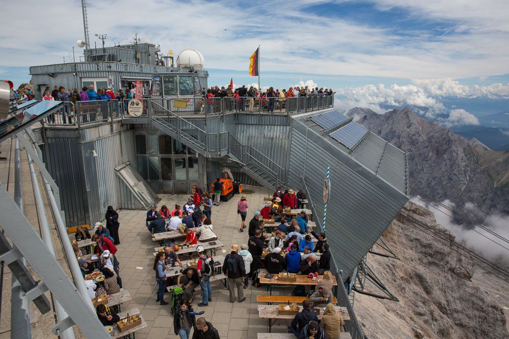 Top of Zugspitze