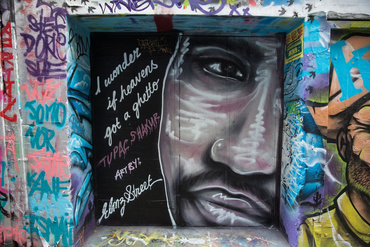 Tupac Hosier Lane