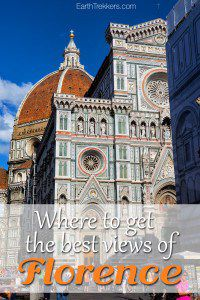 Where to get the best views of Florence Italy