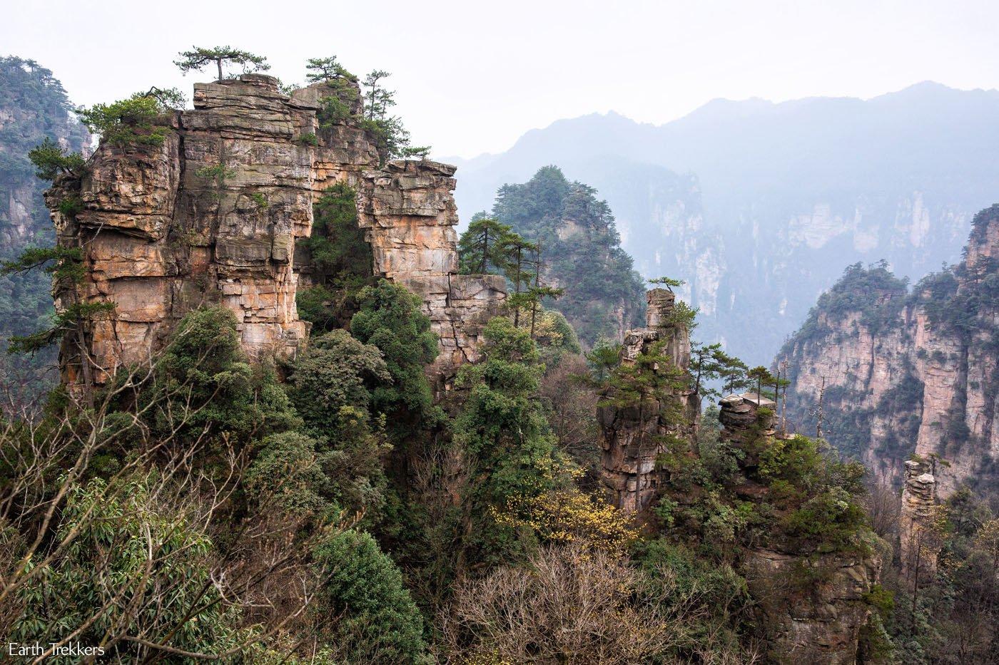 Zhangjiajie Avatar Inspiration