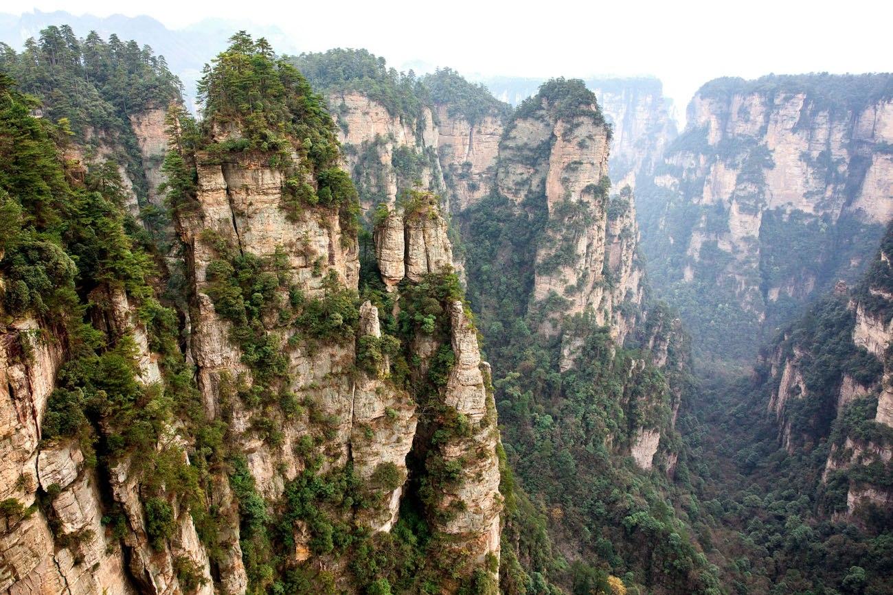 Zhangjiajie March