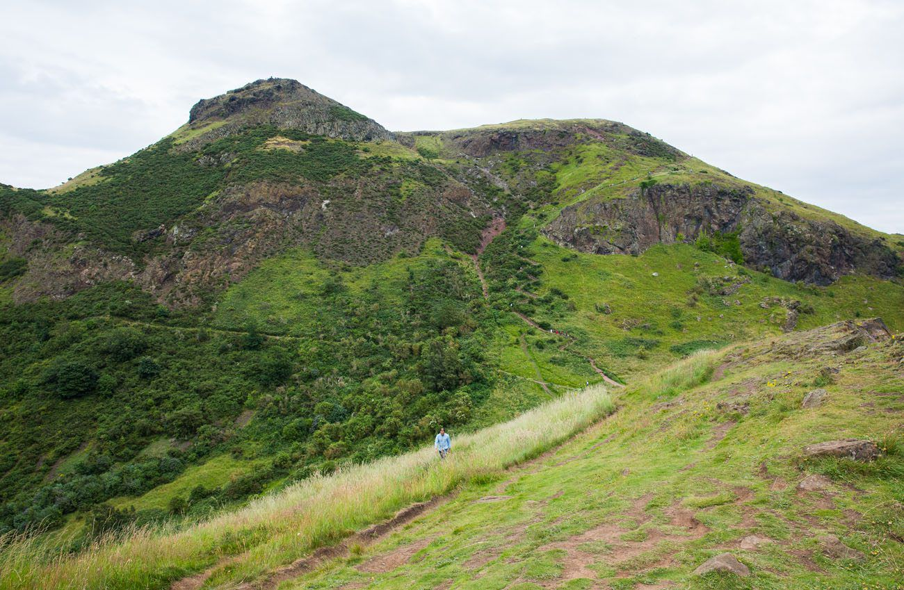 Arthurs Seat Summit View