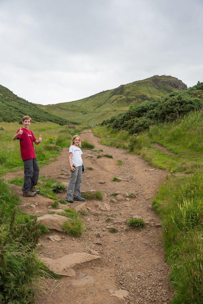 Arthur's Seat Trail