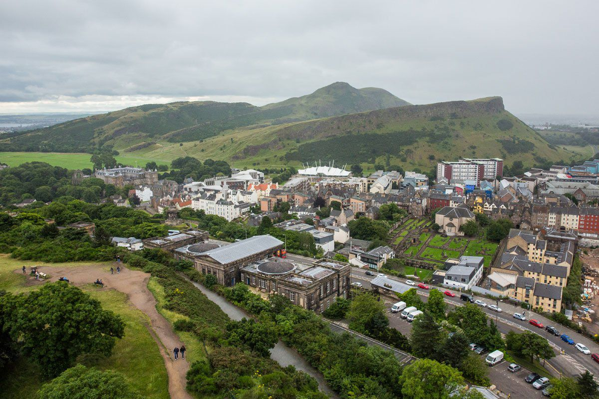 Arthurs Seat from Calton Hill