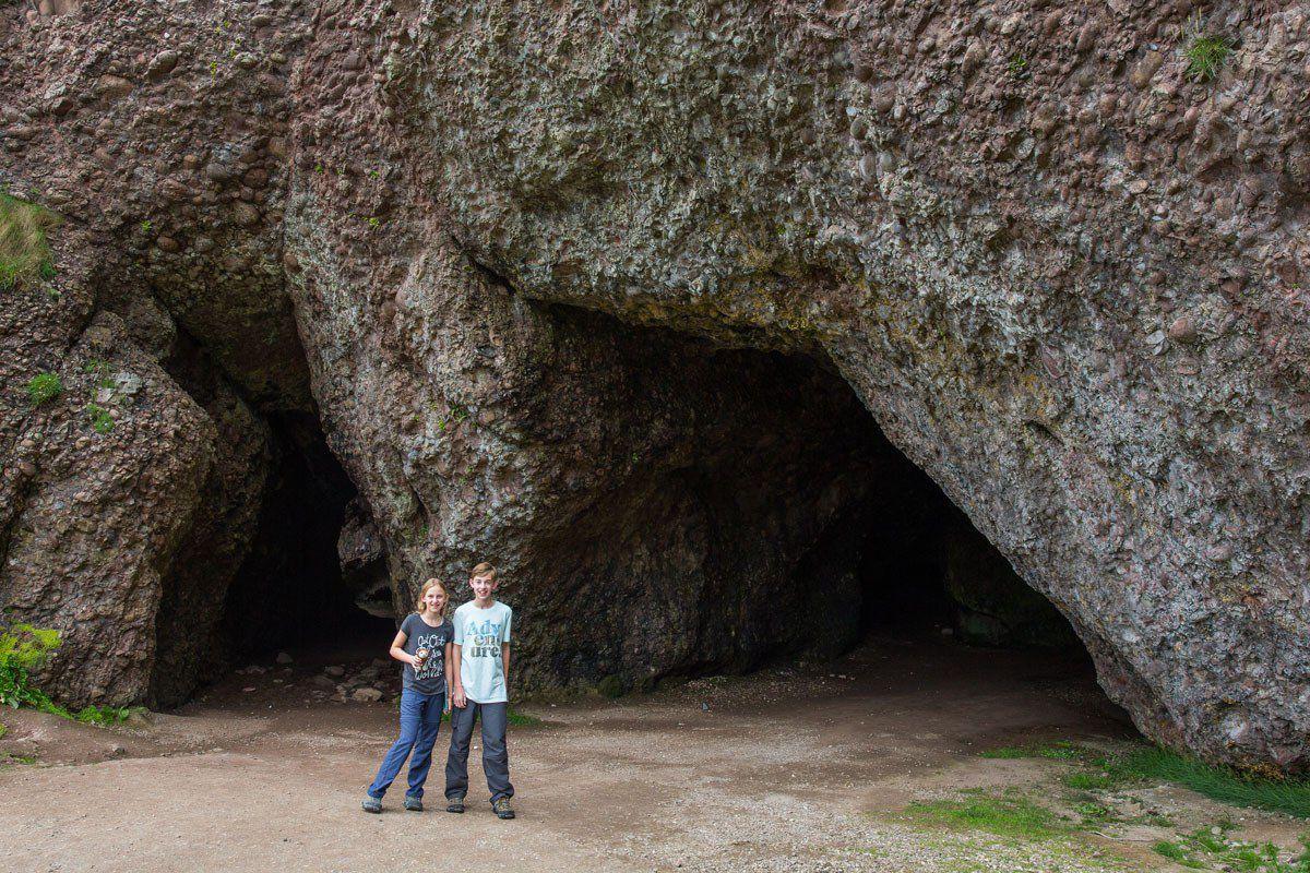 Cushenden Caves