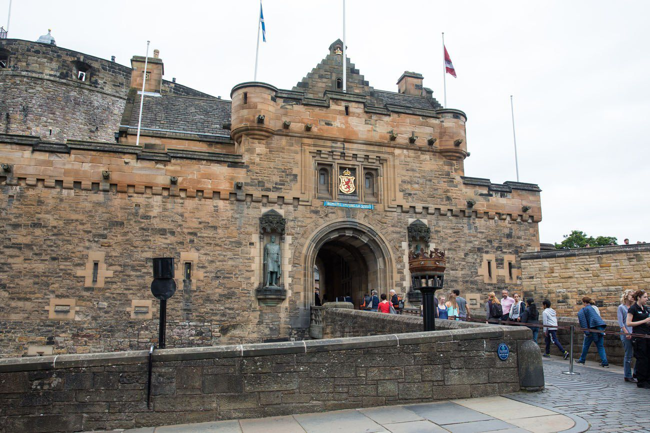Edinburgh Castle Entrance