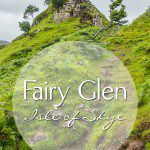 Fairy Glen Isle of Skye Photos and Drone Video
